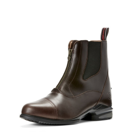 DEVON NITRO ZIP PADDOCK ARIAT WAXED CHOCOLATE