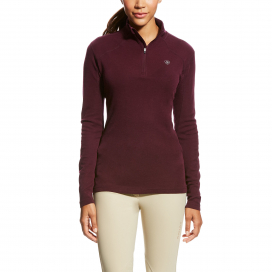 CADENCE WOOL 1/4 ZIP ARIAT BEATROUTE