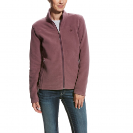 BASIS FULL ZIP WOMENS ARIAT LIQUORICE ROOT