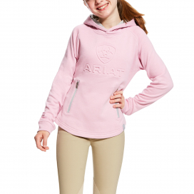 GIRLS 3D HOODIE ARIAT LILAC PEARL