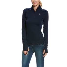 WOMENS LOWELL 2.0 1/4 ZIP ARIAT NAVY