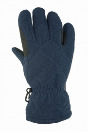 RIDHANDSKE JR FLEECE 5-FINGER HORSE SMART MARIN
