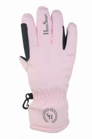 RIDHANDSKE JR SOFTSHELL HORSE SMART ROSA