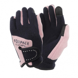 POWER GLOVES CHILD EQUIPAGE M CHILD (ONESIZE) NAVY/ROSA