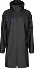 CALLY LONG RAIN JACKET EQUIPAGE BLACK