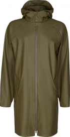 CALLY LONG RAIN JACKET EQUIPAGE GREEN LEAF