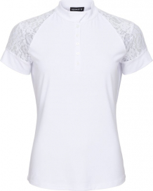 BROOKE SHOWSHIRT EQUIPAGE WHITE