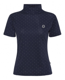 APTIC SS HIGH NECK EQUIPAGE NAVY/DOT