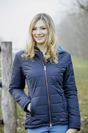RONJA QUILTED JACKET COVALLIERO BLUE NIGHT