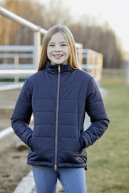 EMELIE KIDS QUILTED JACKET COVALLIERO BLUE NIGHTS