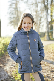 LILIANA WINTER JACKET CHILDREN COVALLIERO SMOKED BLUE