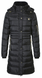 COVALLIERO QUILTED COAT LADIES ANTRACITE