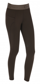 LIA JR TIGHTS COVALLIERO COFFEE