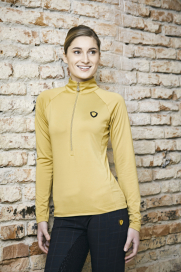 ACTIVE SHIRT LADIES COVALLIERO CAMEL