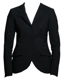 STRETCH BAND RIDING JACKET CAVALLERIA TOSCANA BLACK
