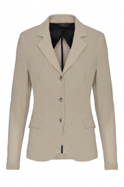 ALL-OVER PERFORATED COMPETITION JACKET CAVALLERIA TOSCANA BEIGE