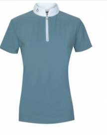 PERFORATED SAILING JERSEY COMPETITION POLO CT