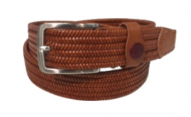 CROSS BELT CAVALLERIA TOSCANA LIGHT BROWN