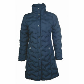 LASERQUILT COAT HKM BLUE