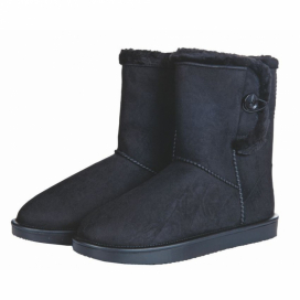 DAVOS ALL WEATHER BOOTS MED KNAPP SVART
