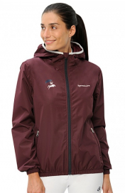 MERLE RAIN JACKET SPOOKS BORDEAUX