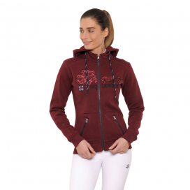 ROXY JACKET SEQUIN SPOOKS BORDEAUX
