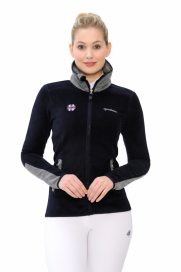 LINDAH FLEECEJACKET SPOOKS NAVY