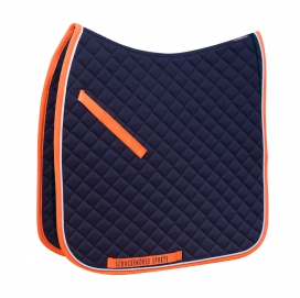 NEO LINE DRESSYRSCHABRAK SCHOCKEMÖHLE FULL/DR NAVY/ORANGE