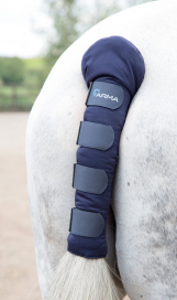 PADDED TAIL GUARD ARMA NAVY