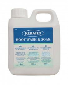 KERATEX HOOF WASH & SOAK 1L