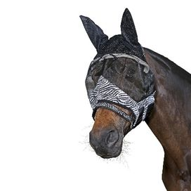 FLUGMASK ANTI-UV ZEBRA THREE HORSES