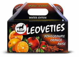 LEOVETIES WINTER EDITION HÄSTGODIS POMEGRANATE ORANGE ANISE
