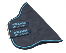 AMIGO 1200D HOOD 150 GRAM HORSEWARE NAVY/ELECTRIC BLUE