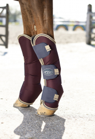 AMIGO RIPSTOP TRANSPORTSKYDD HORSEWARE FIG/NAVY/TAN