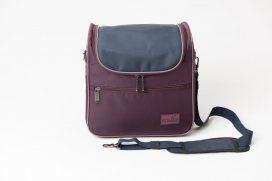 SOMEH COMPACT GROOMING BAG BORDEAUX
