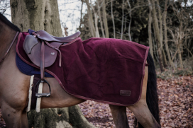 RIDING RUG HEAVY FLEECE KENTUCKY BORDEAUX