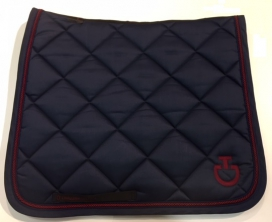 COTTON DRESSAGE SADDLE PAD CAVALLERIA TOSCANA NAVY