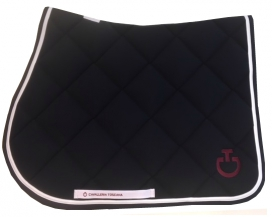 TECH CT JUMPING SADDLE PAD CAVALLERIA TOSCANA FULL NAVY