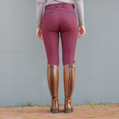 HEDVIG JR KNEE GRIP BREECHES JACSON BURGUNDY
