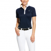 WOMENS APTOS VENT SHOW SHIRT ARIAT NAVY