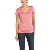 LAGUNA WOMENS TOP ARIAT FRAYED RED