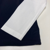 JERSEY W PERFORATED CAVALLERIA TOSCANA NAVY